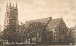 CHATHAM, ST. MARY'S CHURCH, EXTERIOR