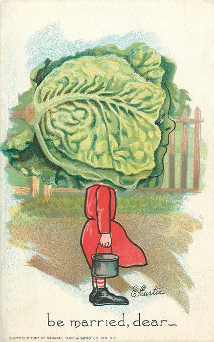 lettuce BE MARRIED, DEAR-