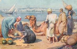MARKET ON THE NILE, CAIRO