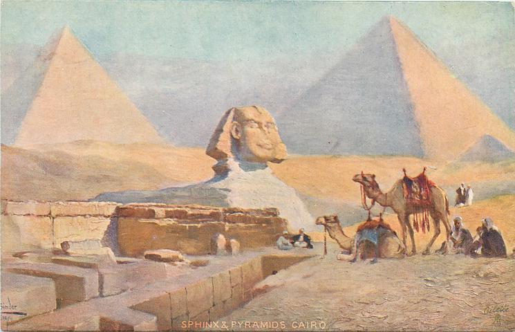 SPHINX & PYRAMIDS, CAIRO