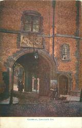GATEWAY, LINCOLN'S INN