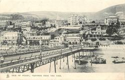 VENTNOR FROM THE PIER
