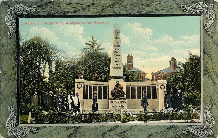 ROYAL ARMY MEDICAL CORPS MEMORIAL