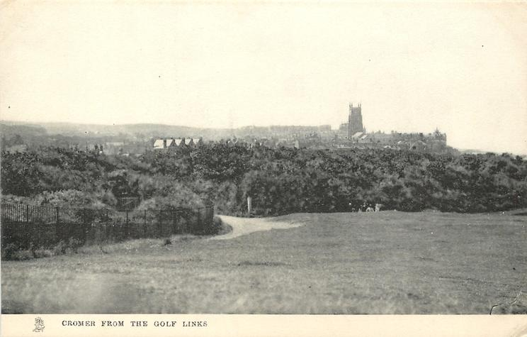 CROMER FROM THE GOLF LINKS