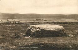 CUMBERLAND'S STONE, CULLODEN MOOR