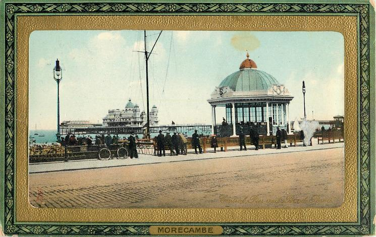CENTRAL PIER AND BAND STAND