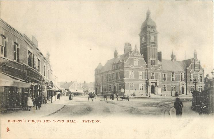 REGENT'S CIRCUS AND TOWN HALL