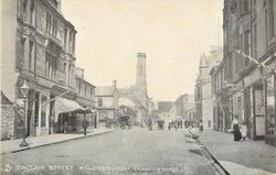 HELENSBURG, SINCLAIR STREET (LOOKING NORTH)