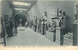 THIRD GRAECO-ROMAN ROOM SHOWING CUPID, ENDYMION, DISCOBOLUS, AND MERCURY