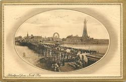 BLACKPOOL FROM NORTH PIER