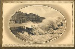 ROUGH SEA FROM CENTRAL PIER