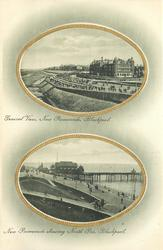 2 insets GENERAL VIEW, NEW PROMENADE//NEW PROMENADE SHOWING NORTH PIER