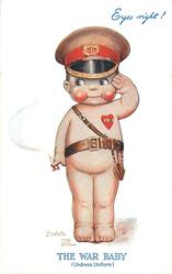 THE WAR BABY (UNDRESS UNIFORM), EYES RIGHT!