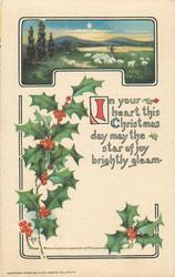 IN YOUR HEART THIS CHRISTMAS DAY MAY THE STAR OF JOY BRIGHTLY GLEAM