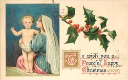 TO WISH YOU A PEACEFUL HAPPY CHRISTMAS