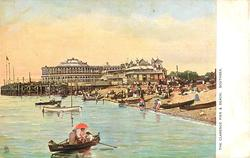 THE CLARENCE PIER & BEACH, SOUTHSEA