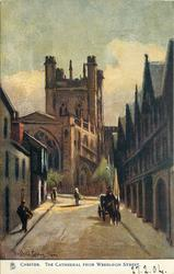 THE CATHEDRAL FROM WERBURGH STREET