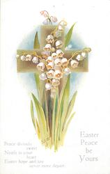 EASTER PEACE BE YOURS  lilies-of-the-valley