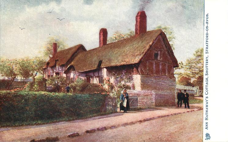 ANNE HATHAWAY'S COTTAGE, SHOTTERY