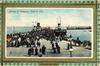 ARRIVAL OF STEAMERS, VICTORIA PIER