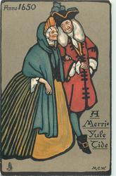 ANNO 1650, A MERRIE YULE TIDE