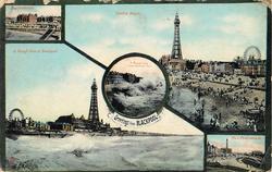 5 insets of scenes, upper left view NEW PROMENADE