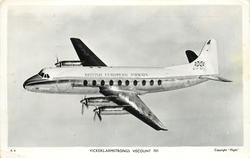 VICKERS-ARMSTRONG VISCOUNT 701