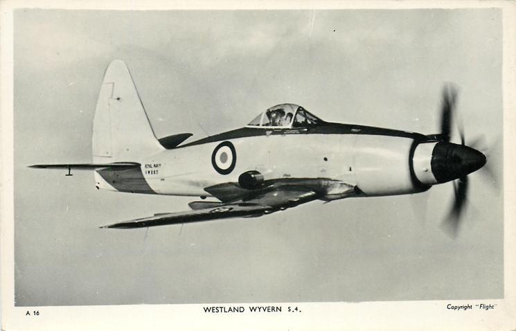WESTLAND WYVERN S.4