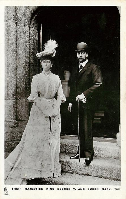 THEIR MAJESTIES KING GEORGE V. AND QUEEN MARY