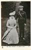 H.M. KING GEORGE V. & QUEEN MARY informal portrait