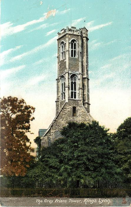 THE GREY FRIARS TOWER