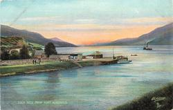 LOCH NESS FROM FORT AUGUSTUS