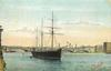 BLACKFRIARS BRIDGE & TRAINING SHIP
