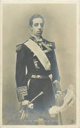 ALFONSO XIII. KING OF SPAIN