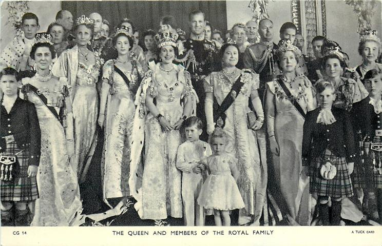 THE QUEEN AND MEMBERS OF THE ROYAL FAMILY