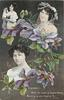 CLEMATIS, 3 insets, GAYNOR ROWLANDS, IRIS HOEY, MARY MACKENZIE,