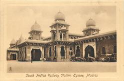 SOUTH INDIAN RAILWAY STATION, EGMAE