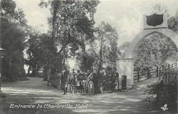 ENTRANCE TO CHARLEVILLE HOTEL