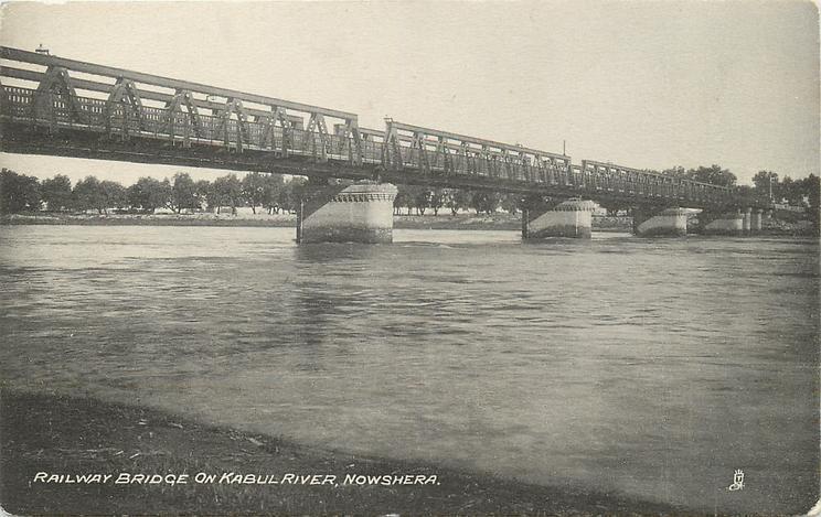 RAILWAY BRIDGE ON KABUL RIVER