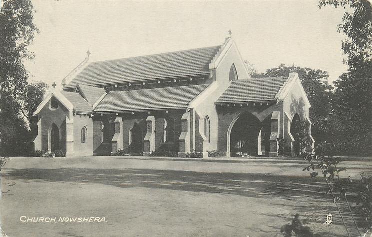 CHURCH, NOWSHERA