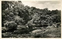 THE RIVER, PEEL HOLE BRIDGE