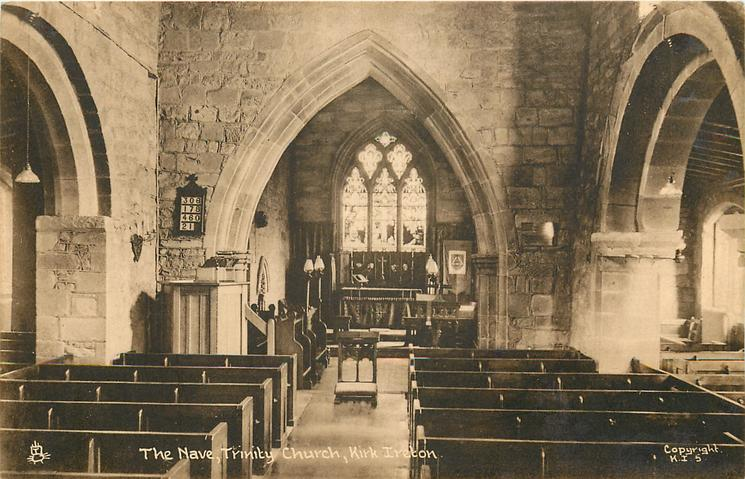 THE NAVE, TRINITY CHURCH