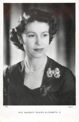 HER MAJESTY QUEEN ELIZABETH II  head & shoulders study