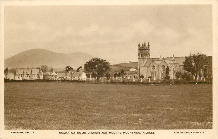 ROMAN CATHOLIC CHURCH AND MOURNE MOUNTAINS