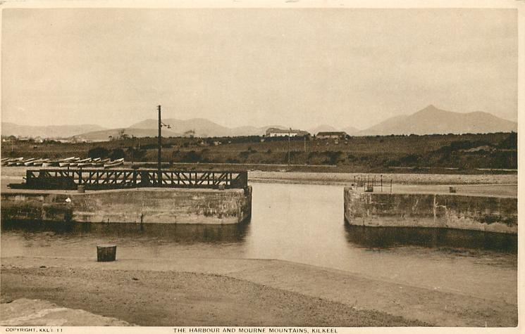 THE HARBOUR AND MOURNE MOUNTAINS