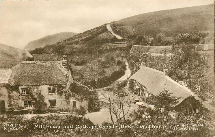 MILL HOUSE AND COTTAGE, COOMBE, NR.KILKHAMPTON