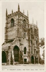 ST. MARGARET'S CHURCH, WEST FRONT