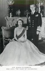 H.M. QUEEN ELIZABETH AND H.R.H. THE DUKE OF EDINBURGH