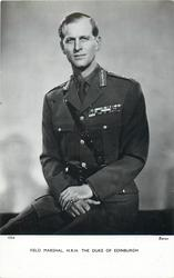 FIELD MARSHAL, H.R.H. THE DUKE OF EDINBURGH