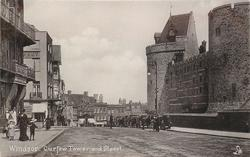 CURFEW TOWER AND STREET
